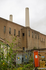 Battersea Power Station before redevelopment