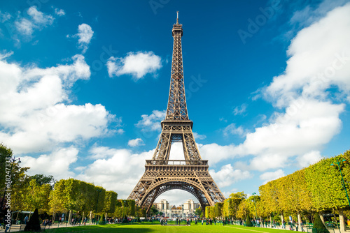 canvas print picture La Tour Eiffel