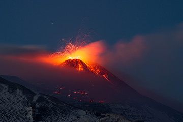 Eruption etna 2013