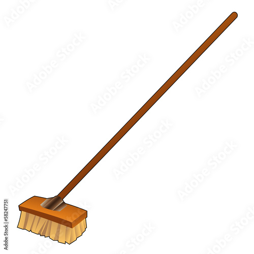 Cartoon Broom