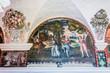paintings in Santa Catalina monastery at Arequipa Peru