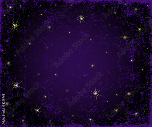 Dark violet grunge Christmas pattern