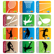 Sport School Insignias set