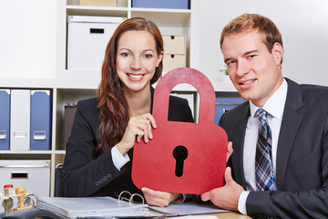 Data security in business office