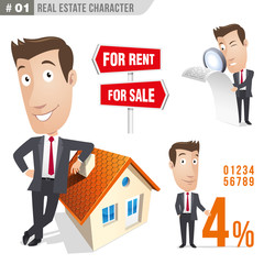 Businessman, manager - Real estate - Set 01