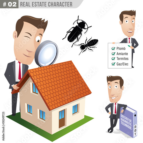 Businessman, manager - Real Estate - Set 02