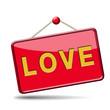 love placard