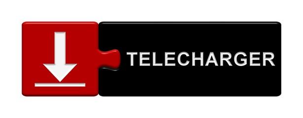 Puzzle-Button rot schwarz: Télécharger