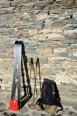 Tools for back country skiing