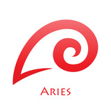 Simplistic Aries Zodiac Star Sign