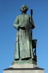 Statue Johannes Petrus Minckeleers Maastricht