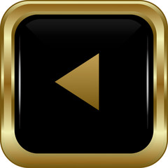 Black gold rewind button.