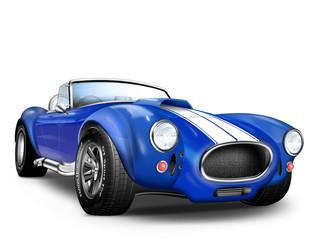 Super Sportwagen GT in blau, weiß