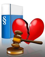 Ehescheidung vor Gericht