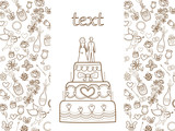 wedding card (coloring book)