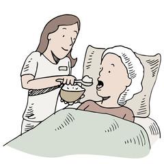 Feeding Patient