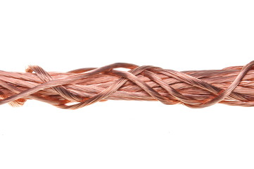 Red copper wire component for industry