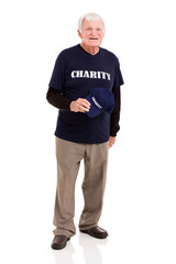 senior charity worker