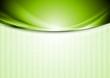 Bright smooth iridescent waves design