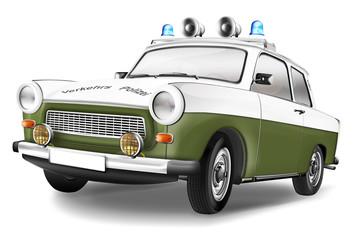 DDR Polizeiauto
