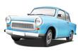 Pkw Trabant blau