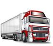 Truck, Sattelschlepper - freisteller