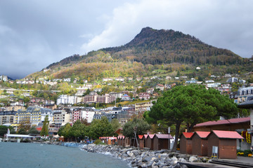 View of Montreux, Switzerland
