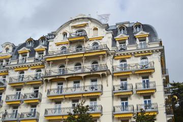 Art Nouveua building in Montreux.