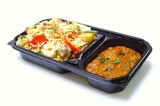 retail biryani curry in retail tray