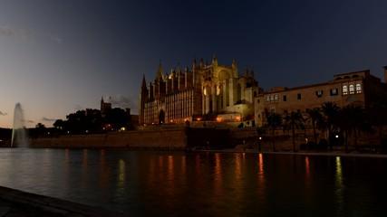 Sonnenuntergang in Palma de Mallorca