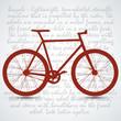 Vintage Retro Bicycle Background
