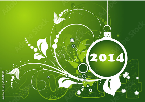 Abstract Christmas banner