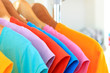 Variety of casual t-shirts