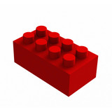lego cube poster