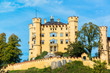 Hohenschwangau castle in the Bavarian Alps - Tirol, Germany