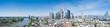 Leinwanddruck Bild - Frankfurt Skyline