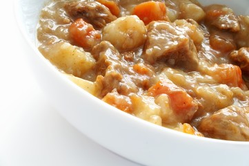 traditional Liverpudlian scouse stew