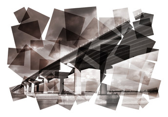 creative bridge abstract