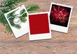 Frohe Weihnachten und guten Rutsch, Weihnachtskarte