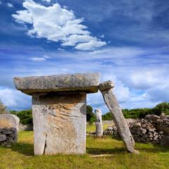 menorca Taules of Talati de Dalt prehistoric tables