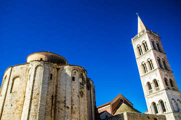 Der Marktplatz von Zadar