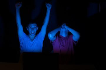 Online excitement
