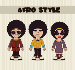 afro style design