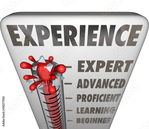 Experience Measurement Expert to Novice Level