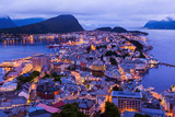 Cityscape of Alesund - Norway - 58278346