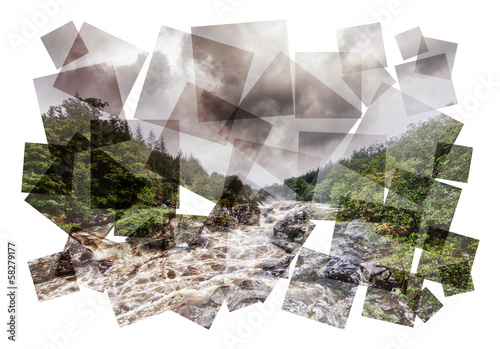 rapids collage