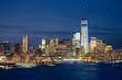New York skyline de nuit