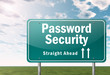 "Highway Signpost ""Password Security"""