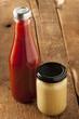 Organic Healthy Ketchup and Mustard