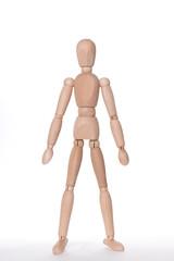 体操する人形